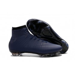 Cristiano Ronaldo CR Chaussure 2016 Nike Mercurial Superfly FG Bleu Royal