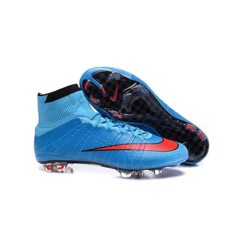 Cristiano Ronaldo CR Chaussure 2016 Nike Mercurial Superfly FG Bleu Rouge  Zoom. Précédent · Suivant eb1ef239cb08d