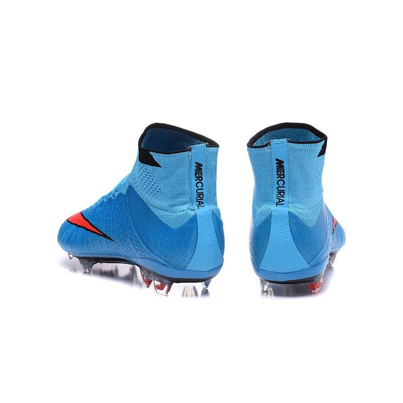 Bleu Nike Foot Montante Chaussure Cr7 WxCQrBeEdo