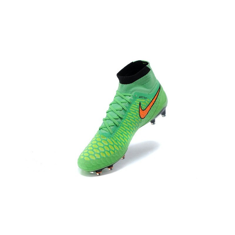 Orange Fg Obra Acc Crampons Foot Homme Vert De Nike Magista rCBQWdExoe