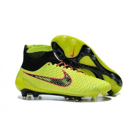 uk availability a8af8 bb751 Chaussette Sport Nouvelle Nike Magista Obra FG Fluo Jaune