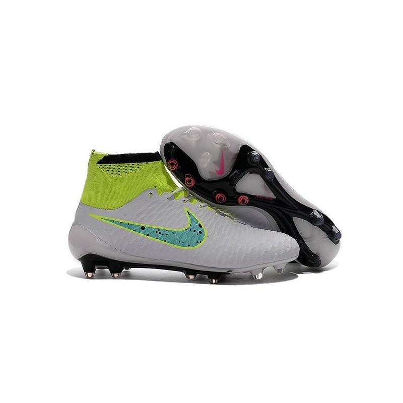 promo code fdddc dfc57 ... nike nouveaux 2016 chaussure magista obra fg acc blanc vert