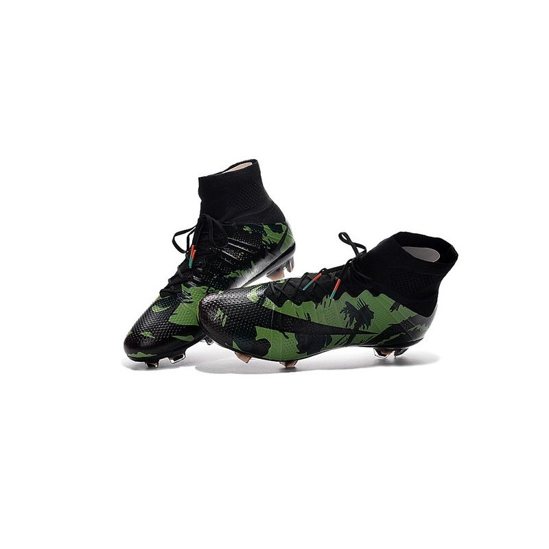 2016 Vert Nouveau Noir Mercurial Superfly Crampon Camo Nike Fg k0w8PnO