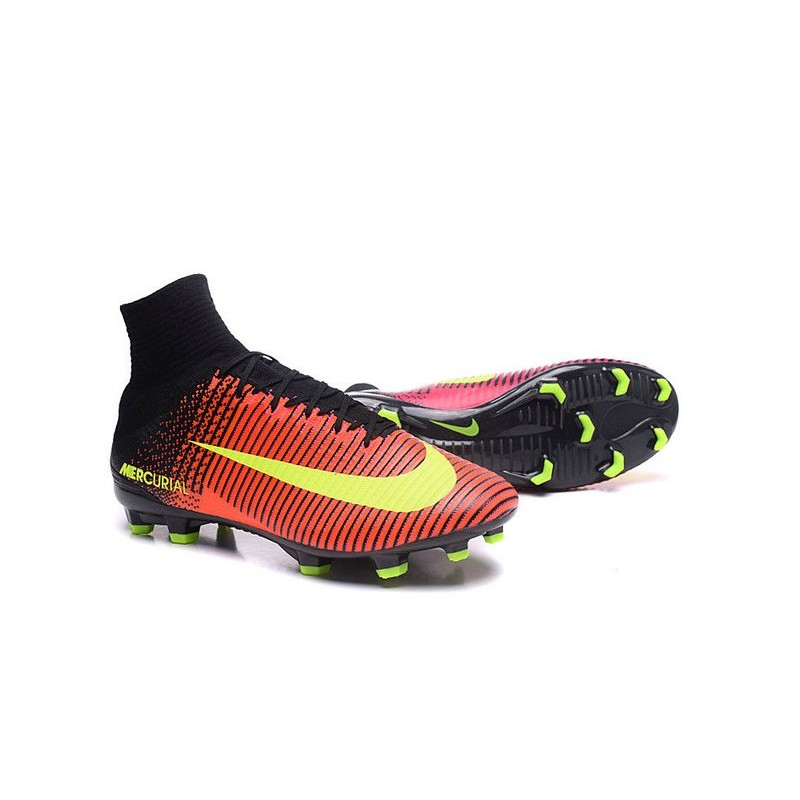 Chaussures A Crampons Nouvel 2016 Nike Mercurial Superfly V Fg