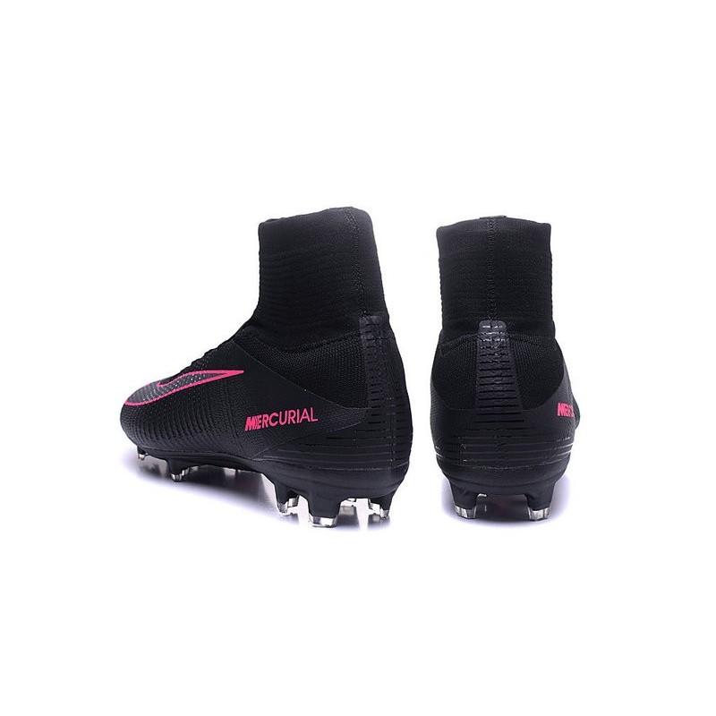 design de qualité c310a a1d19 Noir 2016 Nike FG Superfly Chaussures Crampons Mercurial V ...