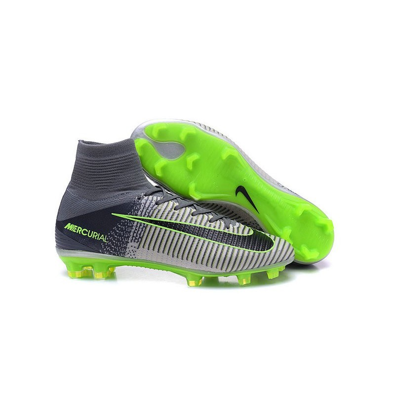 size 40 ea593 8fb5c ... chaussures a crampons nouvel 2016 nike mercurial superfly v fg girs noir