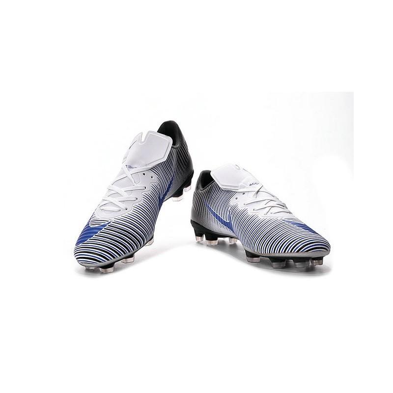 Nike Fg De Mercurial Bleu Noir Foot Xi Blanc Chaussures Vapor MpGLqUzSV