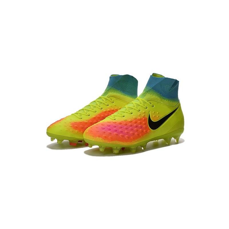 best sneakers 5b93f f71b2 Nike Magista Obra II FG Nouveau 2016 Chaussures Jaune Orange