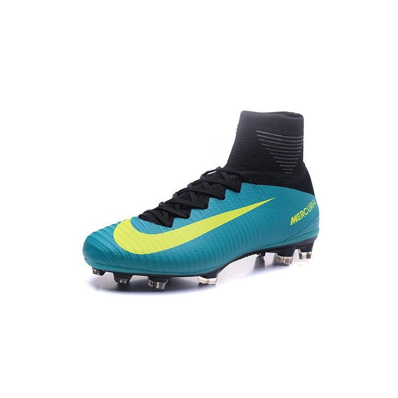 quality design 836fe 33bf3 ... noir bleu blanc 37043 1b84f  netherlands chaussure de foot nike  mercurial superfly v fg bleu jaune acdc2 34e9a