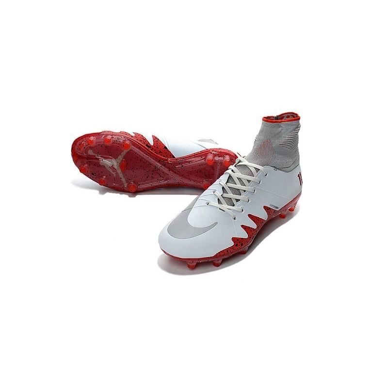 new arrival b875b f8f25 Foot Njr X Jordan Fg Phantom Ii Nike Hypervenom Chaussures Blanc De OnzUPxSF