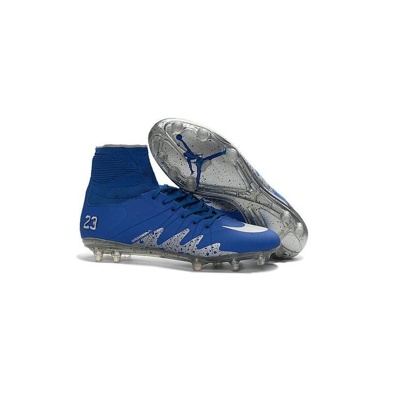 Chaussures Bleu Njr Hypervenom Fg Foot X Jordan De Ii Phantom Nike EQxCBdeWro