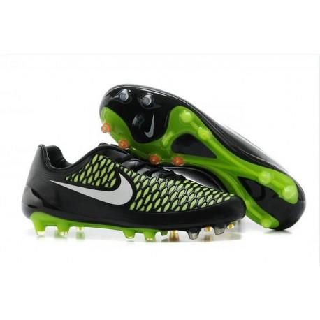 Nike Magista Opus FG Chaussure de Sport Homme Noir Vert