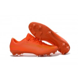 Crampon de Football Nouveau 2016 Nike Mercurial Vapor 11 FG Orange