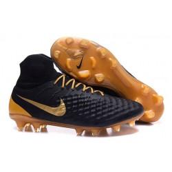 Nike Magista Obra II FG Nouveau Homme Chaussures Noir Or