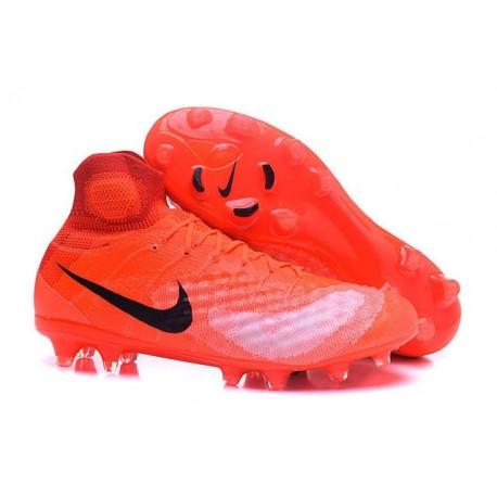 Nike Magista Obra II FG Nouveau Homme Chaussures Orange Noir