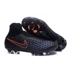 Nike Magista Obra II FG Nouveau Homme Chaussures Noir Orange