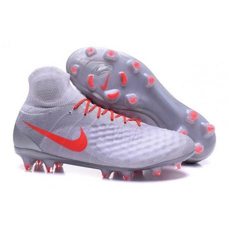 Crampons de Football Meilleurs Nike Magista Obra II FG Blanc Orange