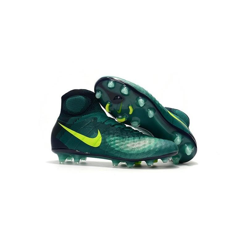 separation shoes 15f3a 3ac58 ... Nike Magista Obra II FG Vert Jaune Zoom. Précédent · Suivant