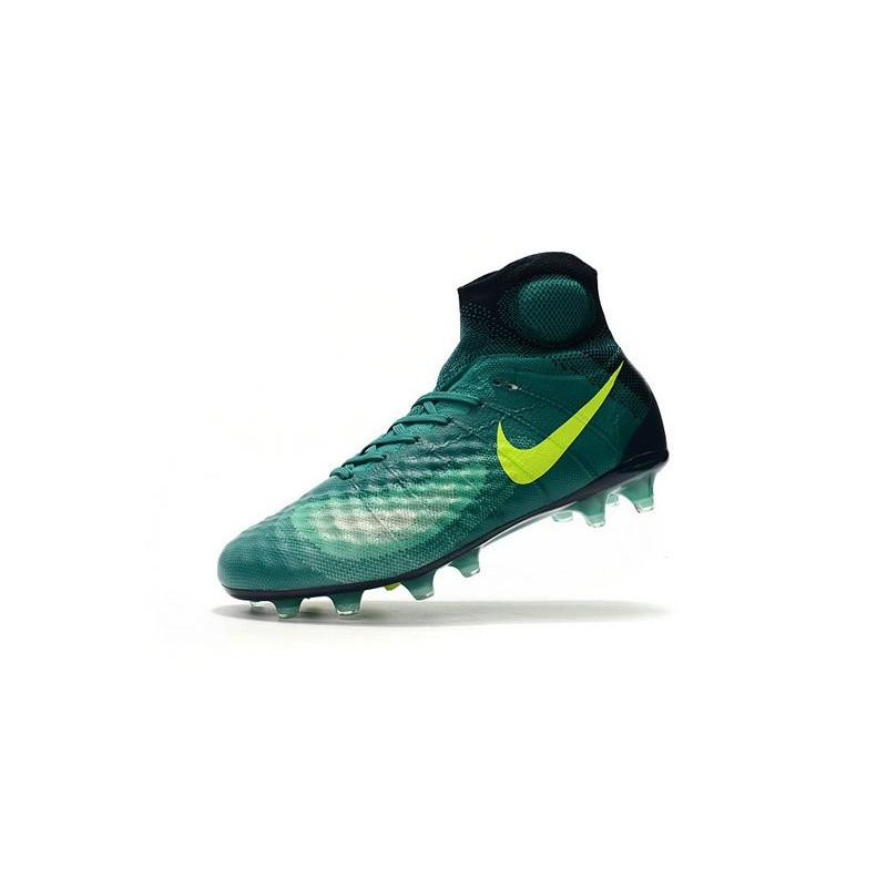 hot sale online e1cb5 48804 Crampons de Football Meilleurs Nike Magista Obra II FG Vert
