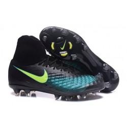 Nike Magista Obra II FG Nouveau Chaussures Foot Noir Bleu