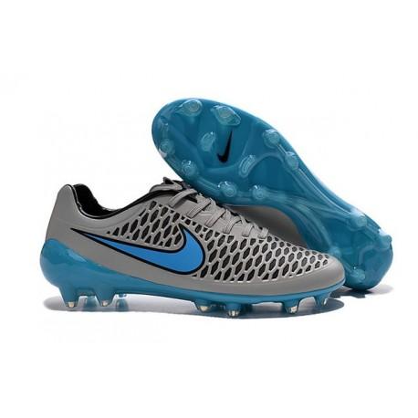 Nike Magista Opus FG Chaussure de Sport Homme Gris Bleu
