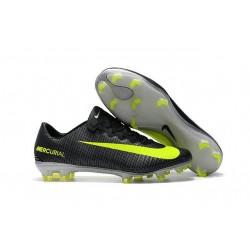 Nike Mercurial Vapor XI FG ACC Chaussures Foot Noir Jaune