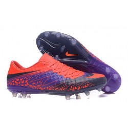 Nike Hypervenom Phinish FG Chaussures Football Rouge Violet