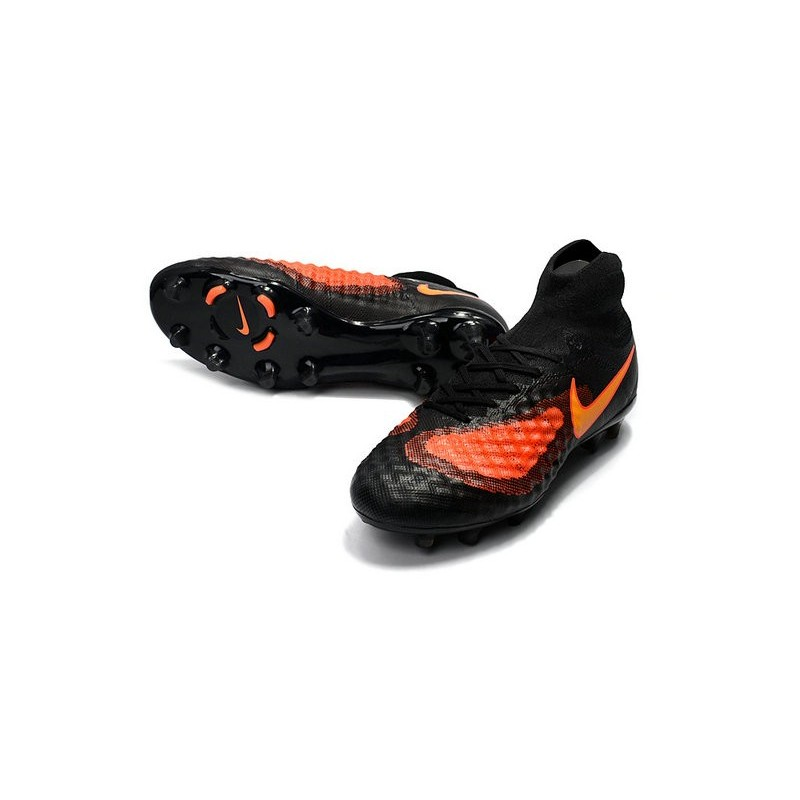 Homme Orange Nike Noir 2017 Crampon Fg De Magista Obra Football 2 P0wknO