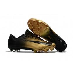 Nike Mercurial Vapor XI FG ACC Chaussures Foot Or Noir