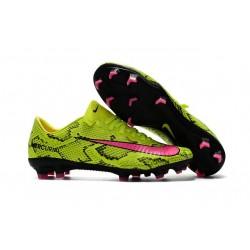 Nike Mercurial Vapor XI FG ACC Chaussures Foot Jaune Rose