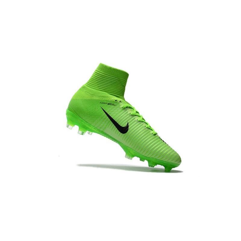 3850958456b7 ... inexpensive nouveaux crampons football nike mercurial superfly 5 fg acc  vert noir zoom. précédent suivant