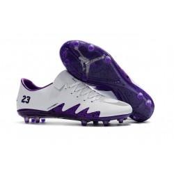 Nike Hypervenom Phinish FG Chaussures Football Blanc Violet