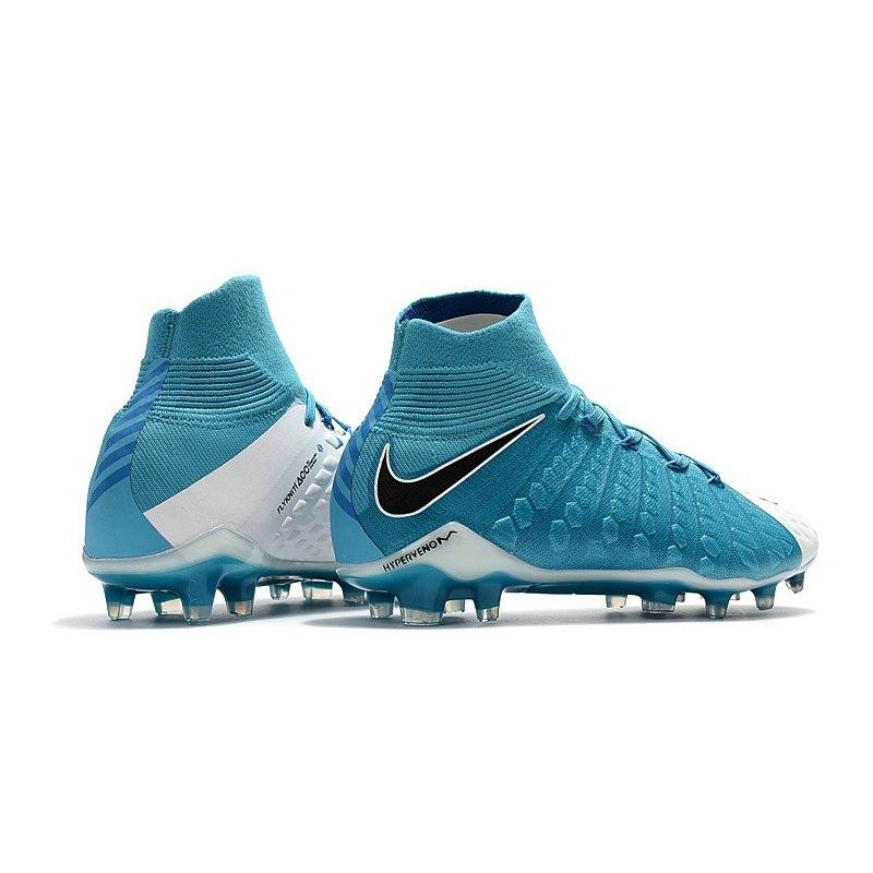 3 Nike De Fg Blanc Phantom Foot Bleu Hypervenom Chaussure WxOXnZqRn