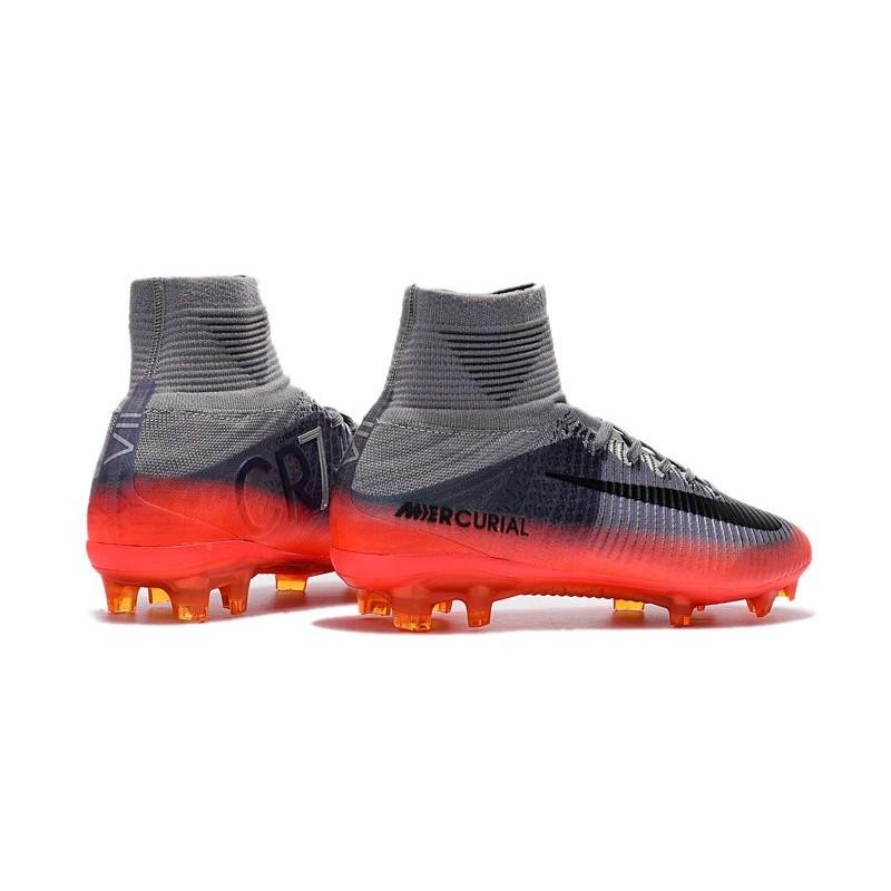 Nike Mercurial Superfly V FG Nouvelle Chaussures de Foot Gris Hematite Noir  Zoom. Précédent · Suivant b695431ec854