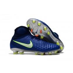 Chaussure de Foot Nouvelles Nike Magista Obra II FG - Bleu