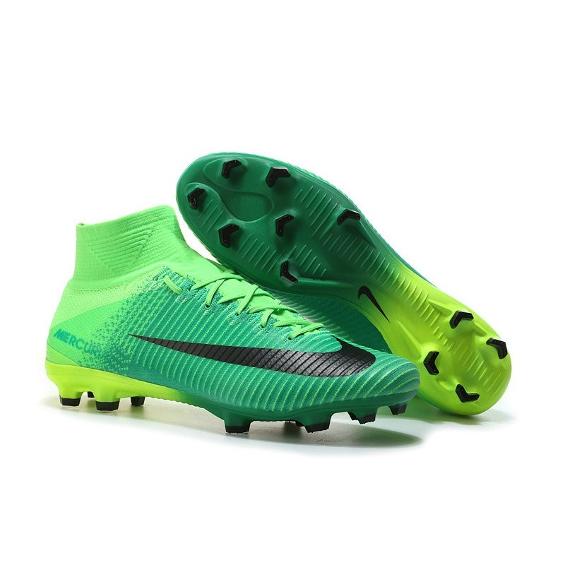 Superfly Chaussures Nike Fg Vert Noir Foot V De Mercurial Nouvelle Ybf7y6g