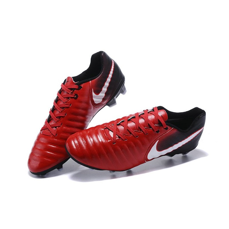 in stock 37c62 157a9 ... free shipping chaussure de foot nouvelles nike tiempo legend vii fg  cuir rouge 1f9ca 79efb