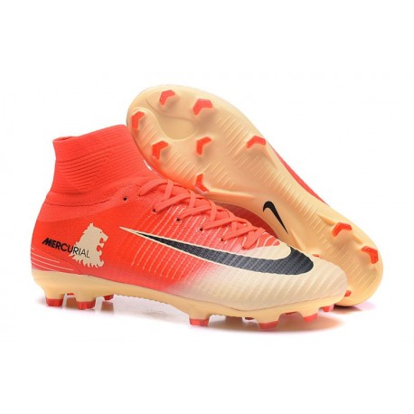 quality design f8821 adc99 Nike Mercurial Superfly 5 FG Nouvel Chaussure Football - Rouge Or
