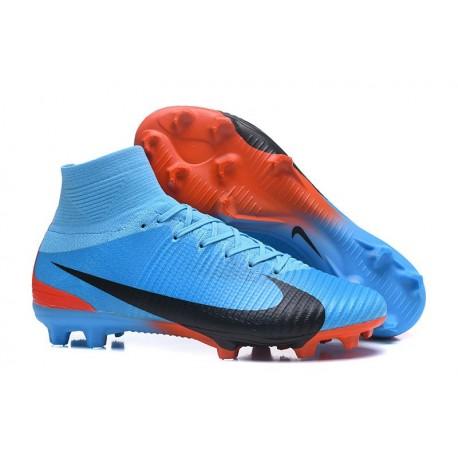 Bleu 5 Fg Mercurial Chaussure Noir Nouvel Nike Football Superfly 0wqR6xBEC