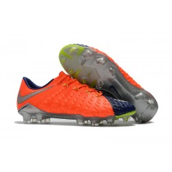 Nike Nouvel Chaussure Hypervenom Phantom 3 FG ACC Orange Noir