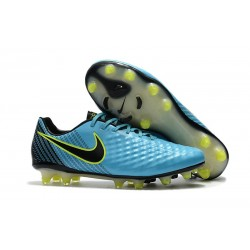 Nike Chaussure Foot Magista Opus II FG Homme Bleu Noir