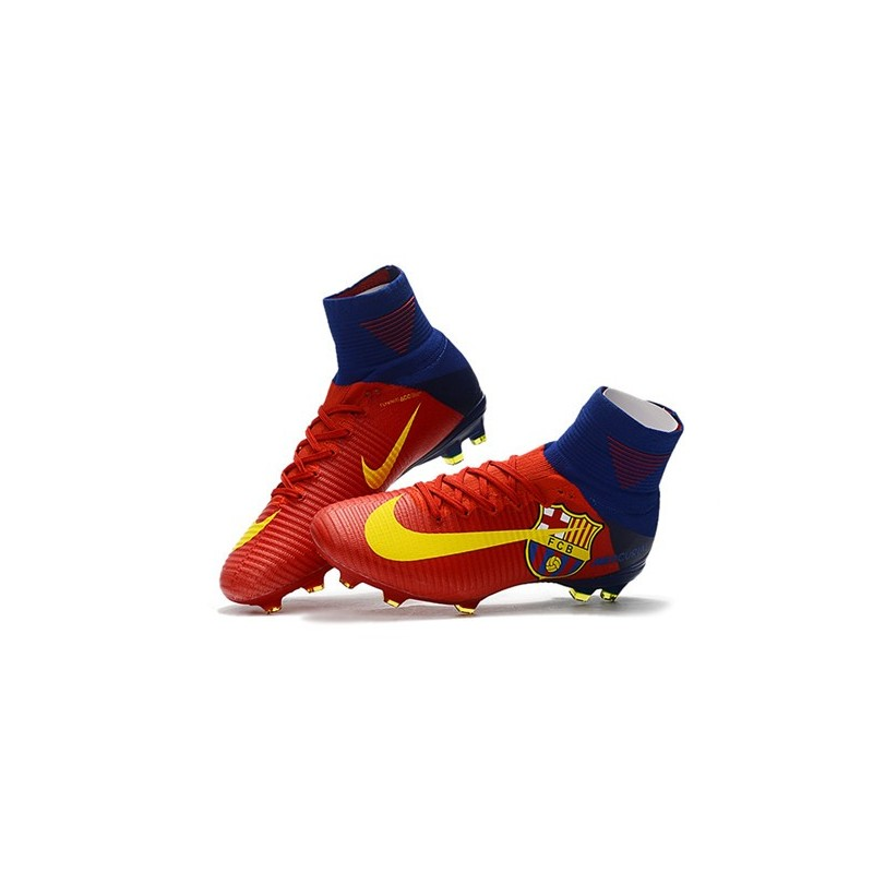 Crampons Nike Superfly De Foot Mercurial Df Rouge V Fg Barcelona vn0O8mwN