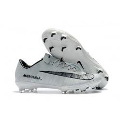 Cristiano Ronaldo Nike Mercurial Vapor XI CR7 FG ACC Chaussures - Blanc Noir
