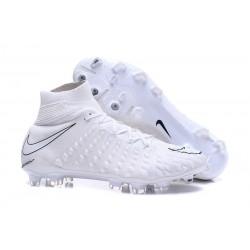 Crampons de Foot Nike HyperVenom Phantom III DF FG - Blanc