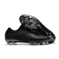 Chaussures Nouveaux Nike Mercurial Vapor Flyknit Ultra FG - Tout Noir
