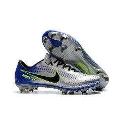 Nike Mercurial Vapor XI FG ACC Chaussures - Argent Noir