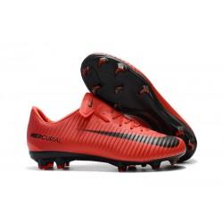 Nike Mercurial Vapor XI FG ACC Chaussures - Rouge Noir