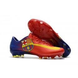 Nike Mercurial Vapor XI FG ACC Chaussures - Barcelona Rouge