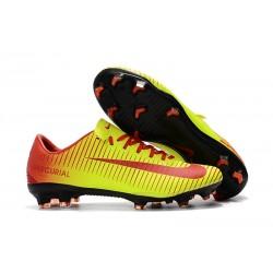 Nike Mercurial Vapor XI FG ACC Chaussures - Jaune Rouge