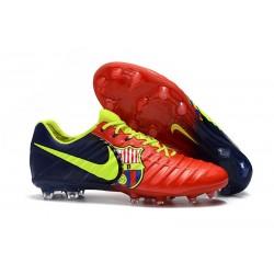 Chaussures Nouvel Nike Tiempo Legend VII FG ACC - Barcelona Rouge